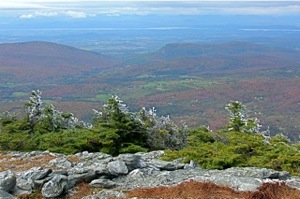 View from Mt Abraham, VT