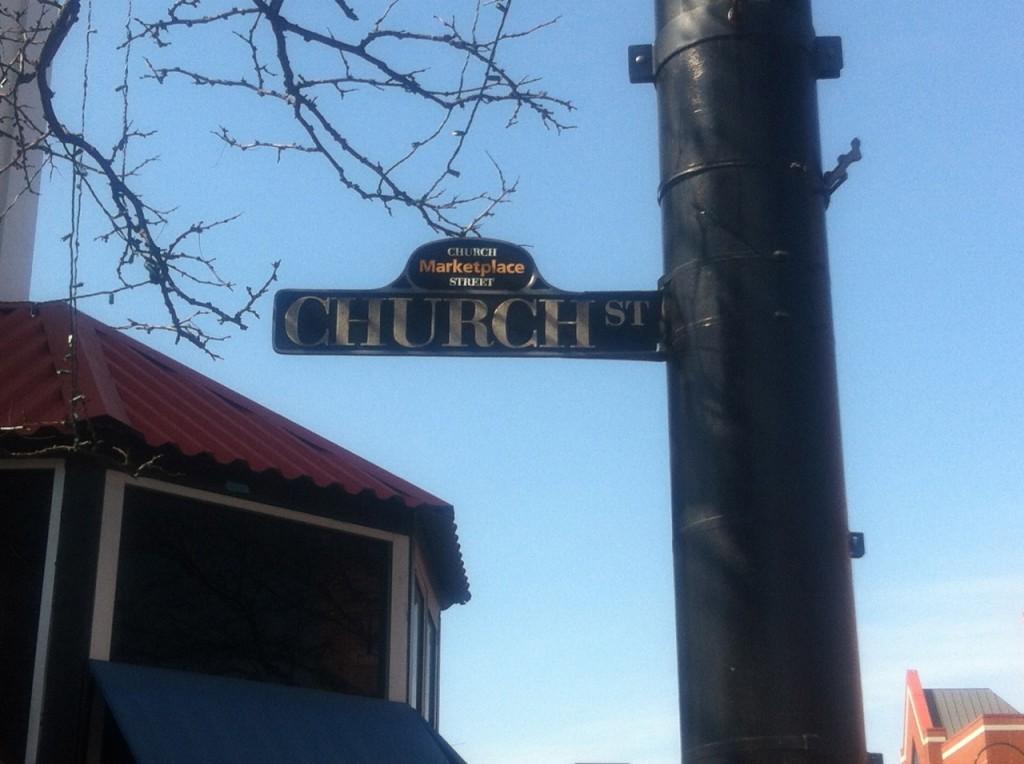 Church Street Burlington 1