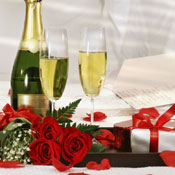 Champagne, Roses & Chocolates