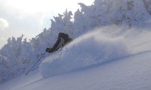 Skiing at Sugarbush VT