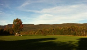 Sunset on the Field at Sugarbush Soaring