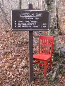 The Red Chair checks out the Lincoln Gap - the highest road crossing in the State of Vermont