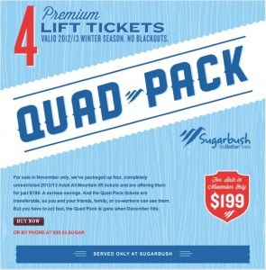 Sugarbush Quad-Pack
