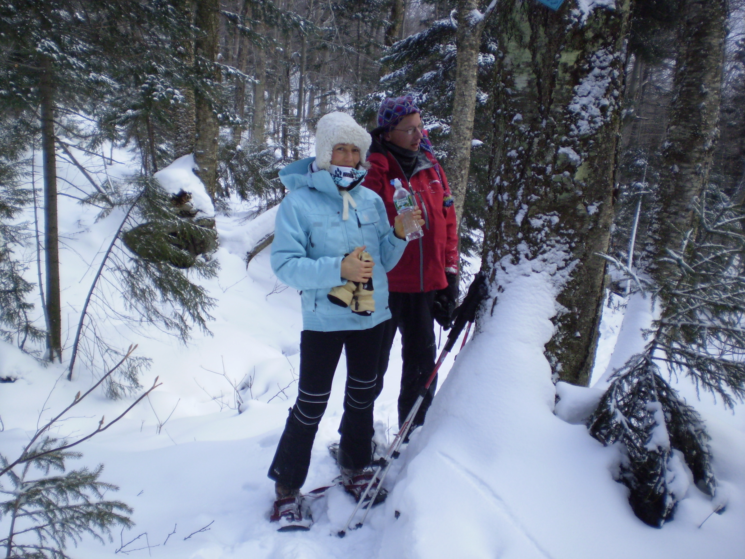 Snowshoeing in Gatineau Park | National Capital Commission