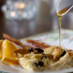 Breakfast maple syrup