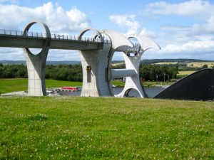 Falkirk Wheel profile