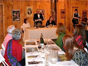 Burns Supper at West Hill House
