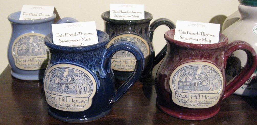 Our new mug selection.