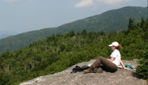 Sunset Ledge, Vermont things to do, a well rewarded summer hike