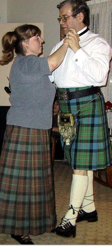 Susan & Peter dance the St. Bernard's Waltz