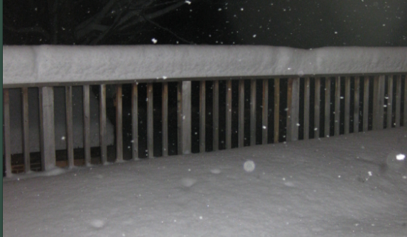 The snow continues to pile up!
