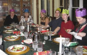 Christmas Dinner at West Hill House B&B