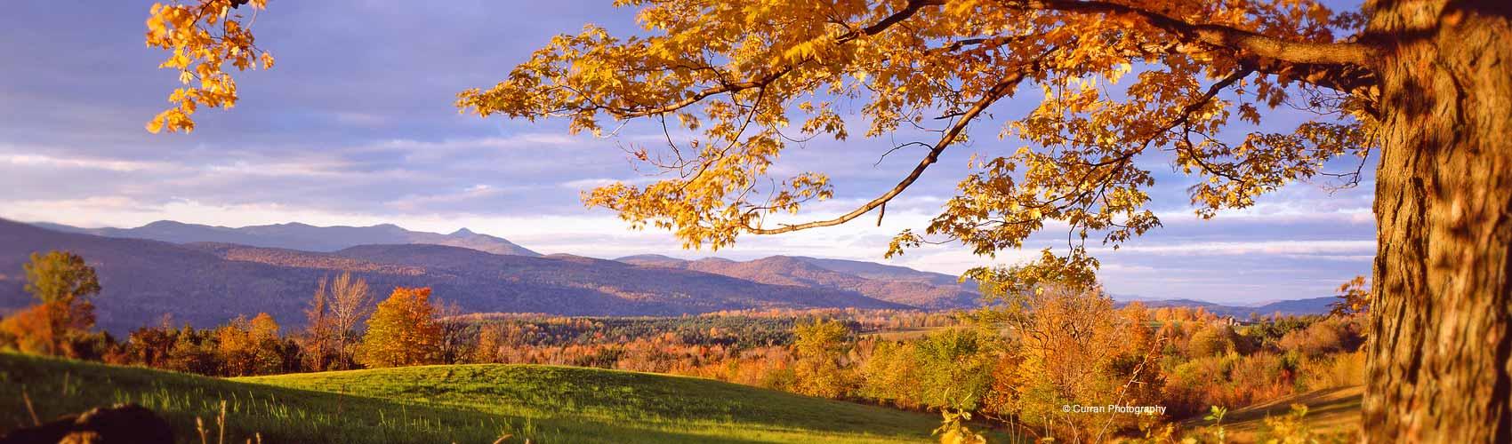 Vermont Fall Scene