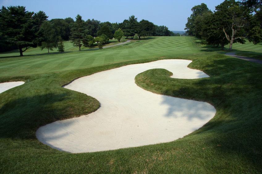 Golfing