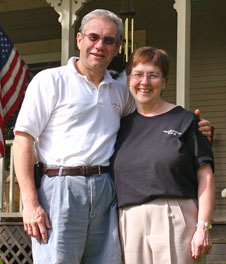 Peter and Suzan Innkeepers of West Hill House Bed and Breakfast