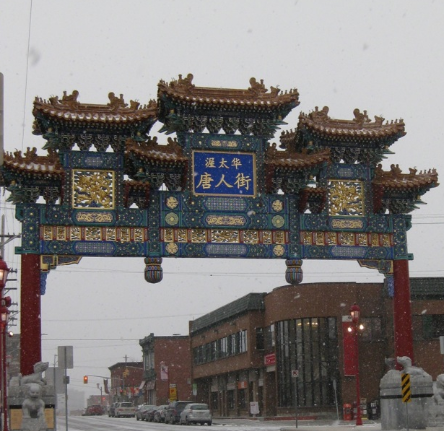 Chinatown Gates, Ottawa Canada