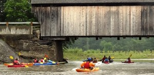 Kayaking Mad River Valley