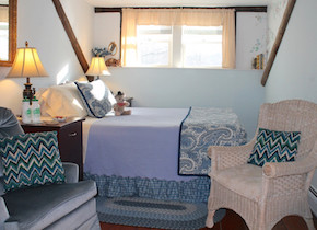 Bluebonnet Room at West Hill House B&B