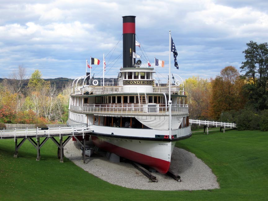 Shelburne Museum Steamboat Ticonderoga