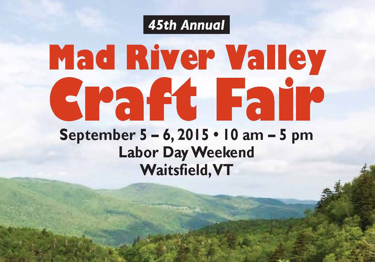 Mad River Valley Craft Fair 2015