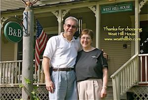 Innkeepers Peter & Susan