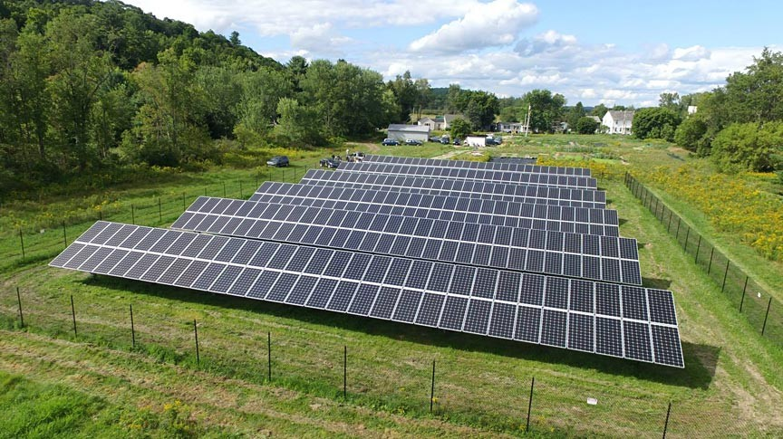 Solar Powered Lodging Same Sun of Vermont