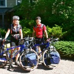 Bicycle Tourers ready for the next leg