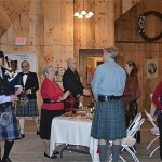 Burns Supper in the Handsome Red Barn