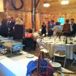 Dinner Reception in the Handsome Red Barn