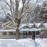 Gorgeous winter day at West Hill House B&B