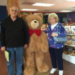 Guests Karl & Cheryl at Vermont Teddy Bear