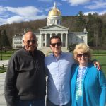 Guests Karl, Jason & Cheryl at Vermont State Capitol