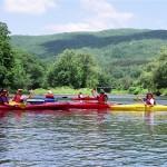 Kayaking on the Winooski River