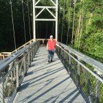 The Long Trail bridge over the Winooski River