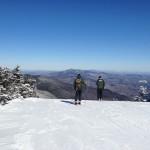 Top of Summit Lift at Sugarbush Mt Ellen