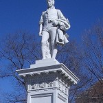 Robert Burns statue in Barre