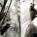 Texas Falls in winter
