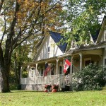 West Hill House B&B in early fall