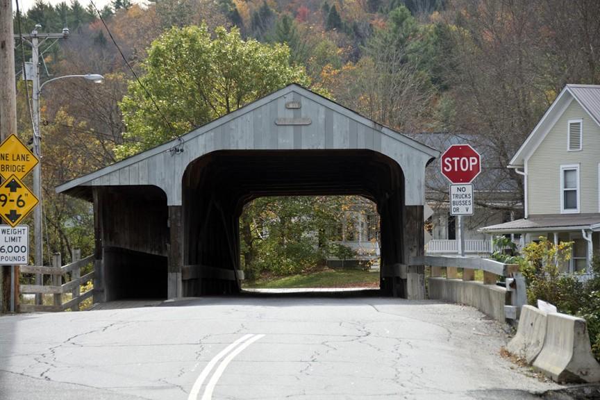 Covered Bridges around the Mad River Valley - Big Eddy Bridge
