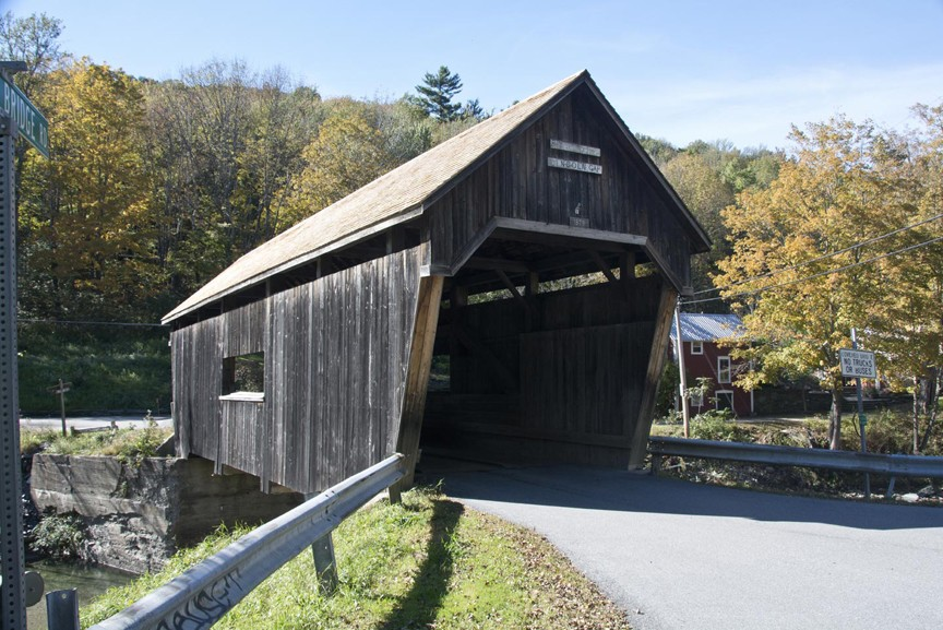 Covered Bridges of Mad River Valley - Lincoln Gap Bridge