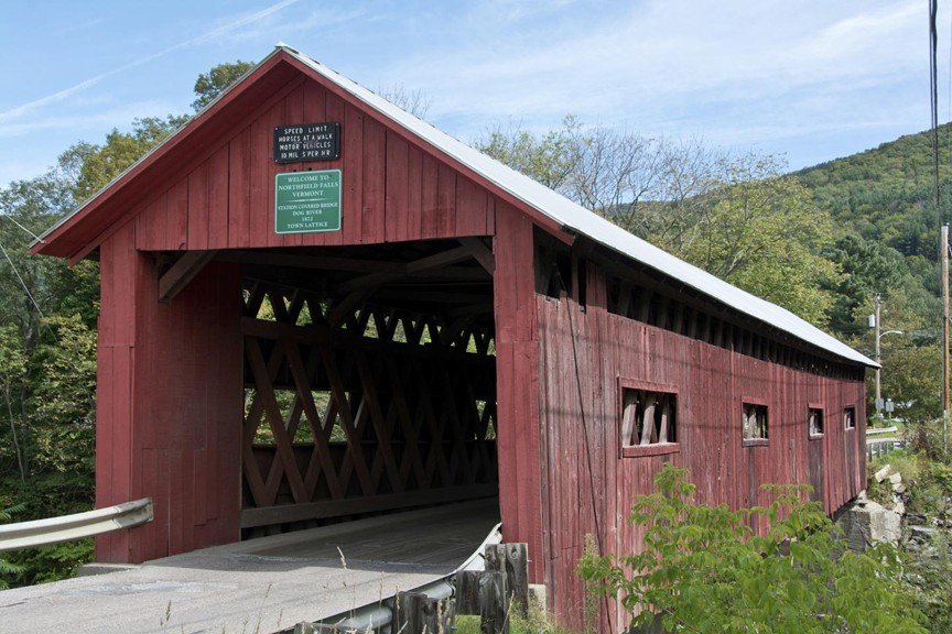 The Covered Bridges Around The Mad River Valley
