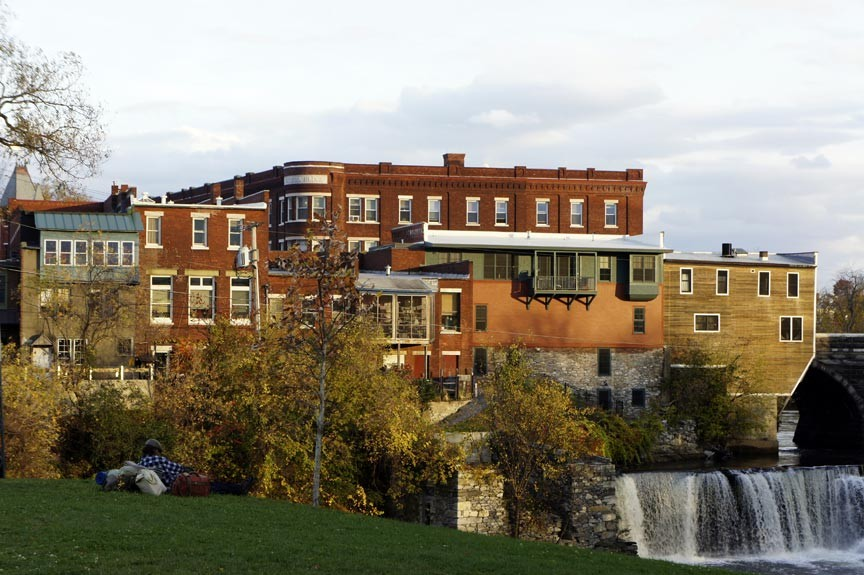 See Middlebury Falls on a Vermont Waterfall Tour!