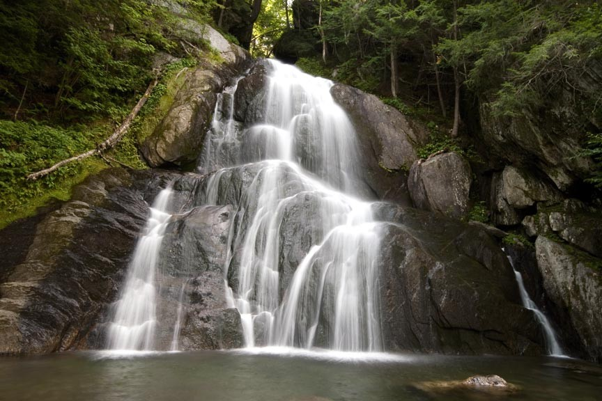 See Moss Glen Falls on a Vermont Waterfall Tour!