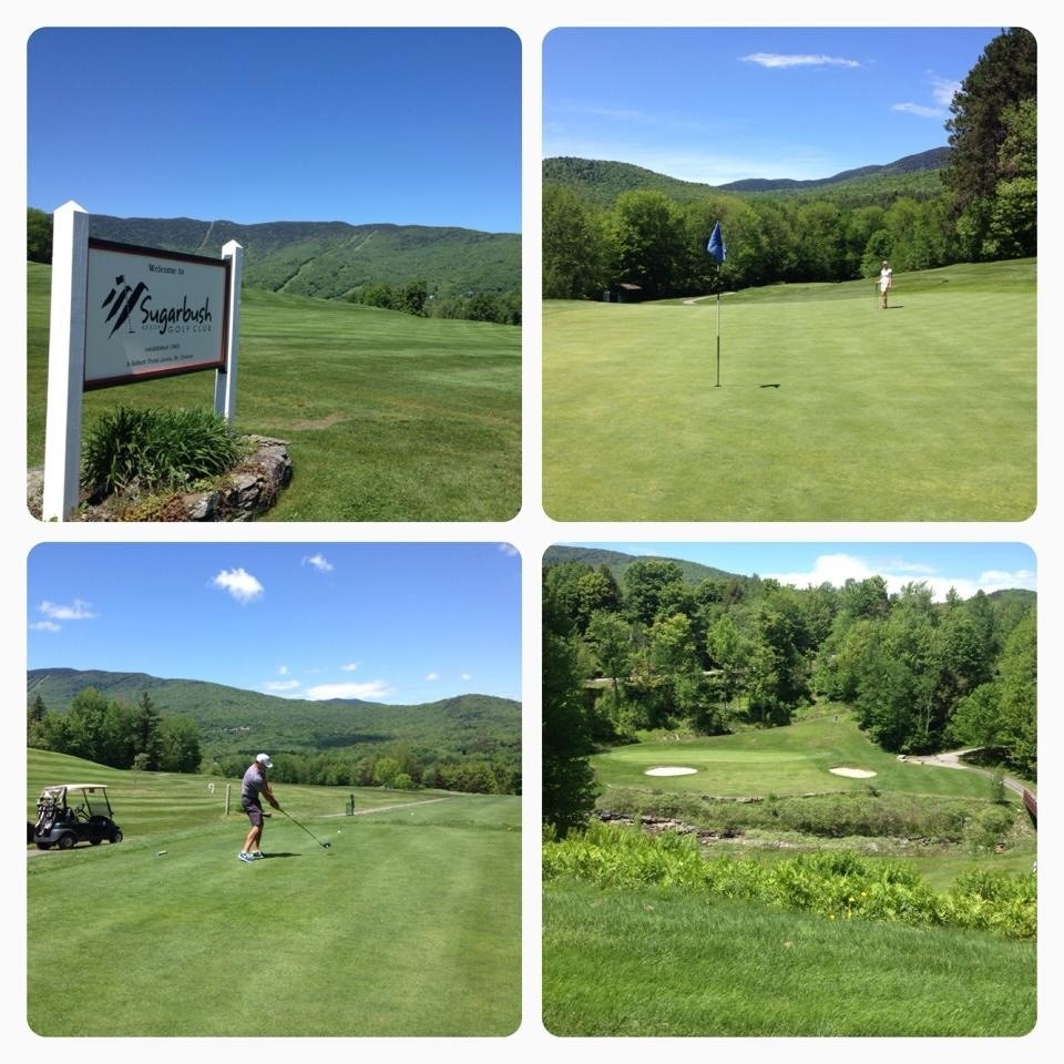 Sugarbush Golf Course - by Angela