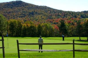 Sugarbush Golf Course from West Hill Road, Vermont Summer Activities