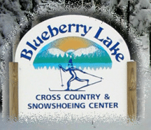 Blueberry Lake X-country in the woods