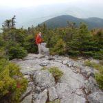 Mt. Abraham hiker