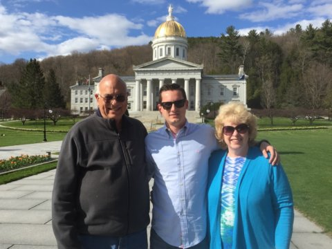 Guests and Vermont Capitol Building
