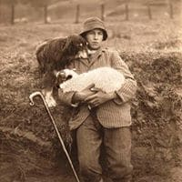 Vintage Shepherd Photo