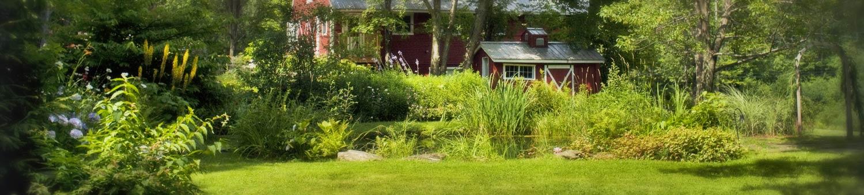 Inn landscaping